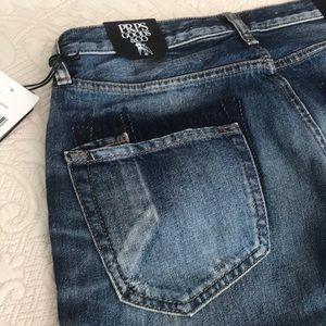 PRPS Jeans - PRPS Goods & Co, El Camino Boyfriend Crop Jeans